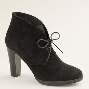 NEW J. Crew Flannery Suede Ankle Booties